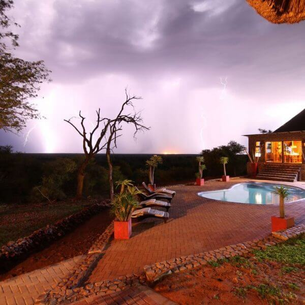 Gaspare Spanio Safaris Lodge Swimming Pool