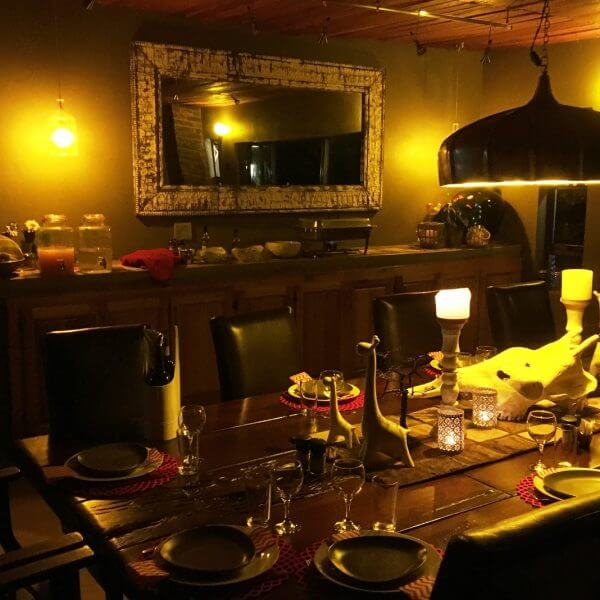 Gaspare Spanio Safaris Lodge Dining