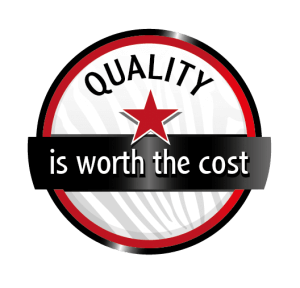 quality is worth the cost